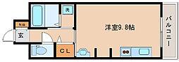 Rassurer神戸[203号室]の間取り