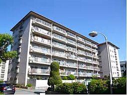 兵庫県宝塚市亀井町の賃貸マンションの外観