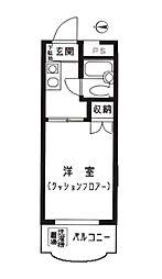 ハイタウン大倉山第1[402号室]の間取り