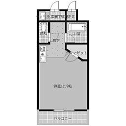 ウエスティンパレス[4階]の間取り