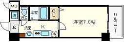 フォレステージ桜川[3階]の間取り
