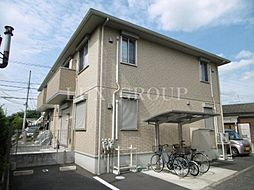 東京都羽村市羽西2丁目の賃貸アパートの外観