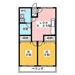 陽東Garden[1階]の間取り