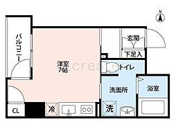 K's Court 東本町[8階]の間取り
