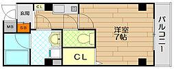 ニッシン第3ビル[3階]の間取り