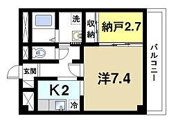 ドルフIII[2階]の間取り