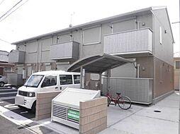 埼玉県三郷市早稲田3丁目の賃貸アパートの外観