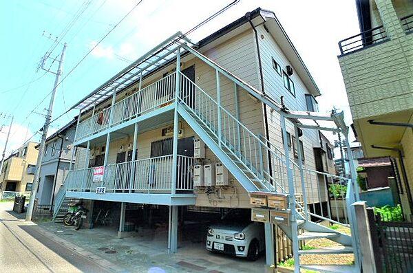 石川荘[2階]の外観