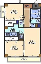 Grand toit(グラン トワ)[503号室号室]の間取り