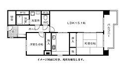 HKビル--[403号室]の間取り