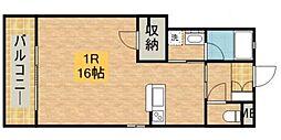 サニーサイドハウス[101号室]の間取り