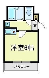 エスティ寺田町むつみ[2階]の間取り