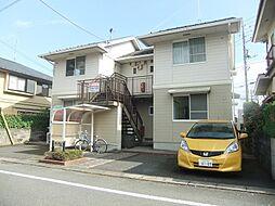 東京都青梅市東青梅3丁目の賃貸アパートの外観