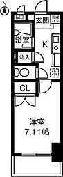 第2さくらマンション中央[605号室]の間取り