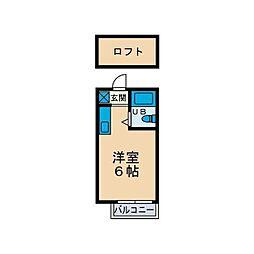 コーポアネモネ[2階]の間取り