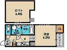 [タウンハウス] 大阪府大阪市都島区内代町3丁目 の賃貸【/】の間取り