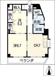C.S.レジデンス[2階]の間取り