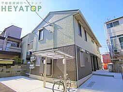 愛知県名古屋市瑞穂区井戸田町2丁目の賃貸アパートの外観