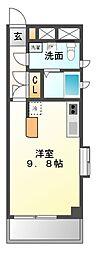 ダイワティアラ津田沼II[3階]の間取り