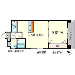 NOI 1st[4階]の間取り