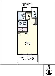 サン・名駅太閤ビル[6階]の間取り