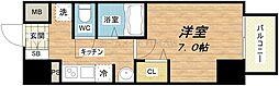 ラナップスクエア大阪城西[6階]の間取り