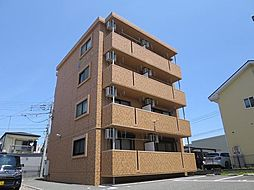 静岡県駿東郡清水町新宿の賃貸マンションの外観