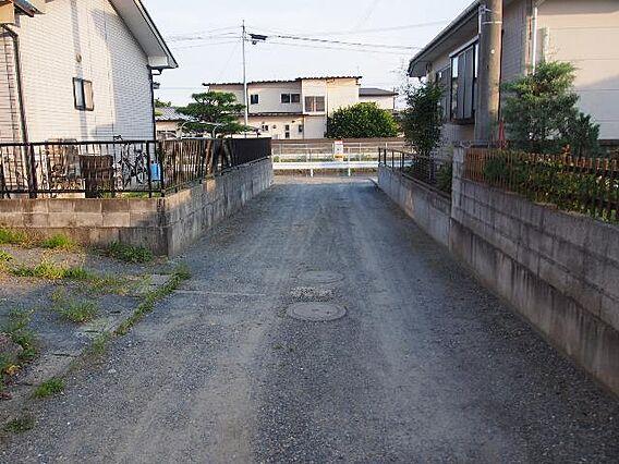 前面道路です。...