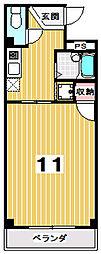 プロバーI[107号室]の間取り