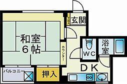 カーサ飯島[303号室]の間取り