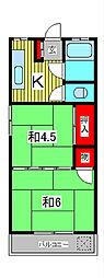第一千葉マンション[4階]の間取り