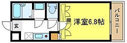 ニシェラ加美[4階]の間取り