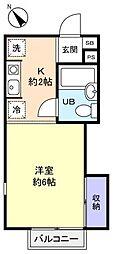 マイハウス八千代台[2階]の間取り