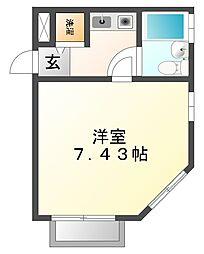 ベルトピア西宮[2階]の間取り