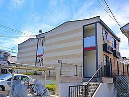 京都府木津川市加茂町里東鳥口の賃貸アパートの外観