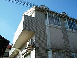 埼玉県川口市芝中田2丁目の賃貸アパートの外観