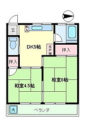 第3ゆたか荘[12号室]の間取り