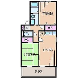 エクセル大倉山II[1階]の間取り