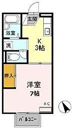 梅花ハウスIII[2階]の間取り