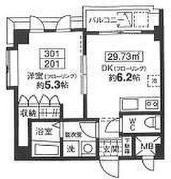 グロントホーム[301号室]の間取り