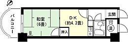 和室6畳 DK約4.3畳
