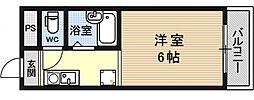シャローム醍醐[207号室号室]の間取り