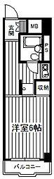 恵エクセルライフ[8階]の間取り