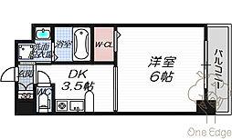 エステムプラザ梅田・扇町公園パークランド[4階]の間取り