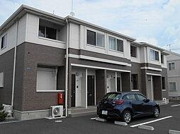 茨城県土浦市神立東2の賃貸アパートの外観
