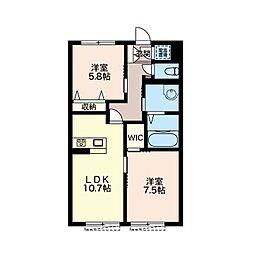 forena villa[1階]の間取り