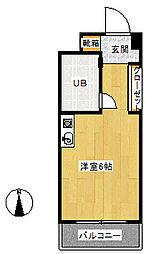 第2サンコート東戸塚[104号室]の間取り