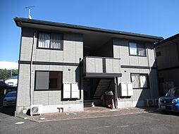 新潟県新潟市東区松園2丁目の賃貸アパートの外観