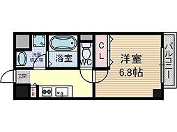 ピュール[5階]の間取り