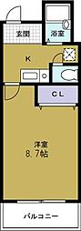 Collection夕凪[2階]の間取り